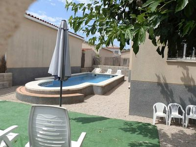 Photo for CASA SONIA,Ideal house for your holidays near the sea, free wifi, air conditioning, private pool, pets allowed, dog's beach.