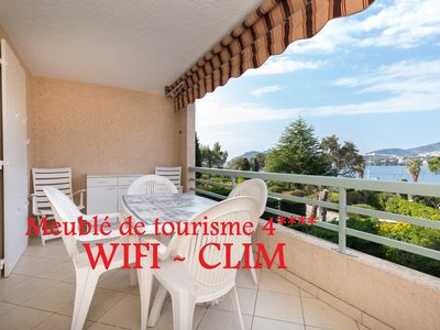 Photo for BEAUTIFUL APARTMENT SEA VIEW CONDITIONING - WIFI