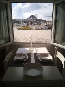 Photo for Quiet, cosy appartment with private front yard in Pera Triovasalos village.