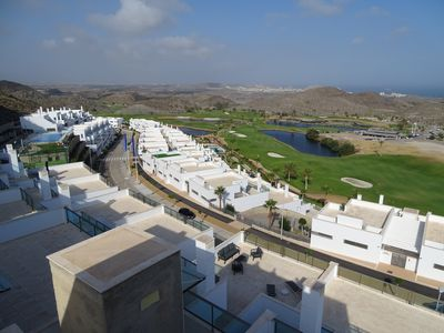 Photo for Penthouse with spectacular views to the Mundo Aguilon golf course and the sea