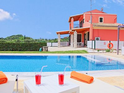 Photo for Villa Senses: A modern charming villa, private pool, stunning views, really spacious for 8 people