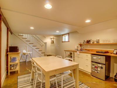Photo for NEW LISTING! Spacious basement apartment, walk to Alberta Arts Districts