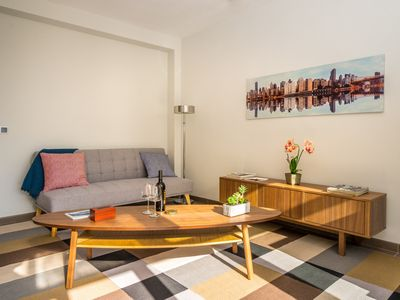 Photo for Mar Apartment, apartment with balcony and partial sea views