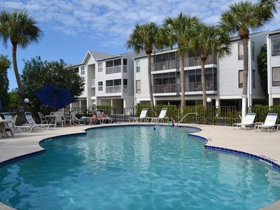 Photo for Private 2BR/2BA w/ Nearby Shopping and Beach, Free Trolley, and Covered Parking