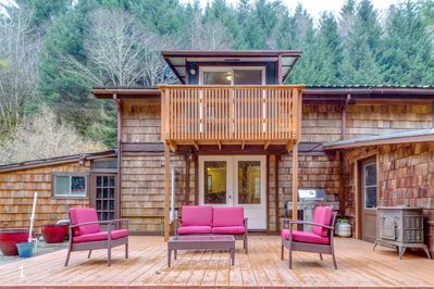 Rear view - Welcome to your perfect cabin!  (Rear view)