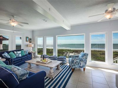 Photo for Life's a Beach - 4BR 3.5BA, Sleeps 15 - Beachfront in Kahala Beach