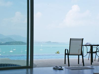 Photo for Stunning Samui sunsets from this luxurious duplex