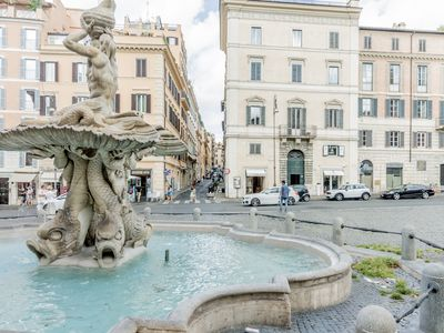 Photo for The apartment, located in the center of Rome, is welcoming and peaceful.