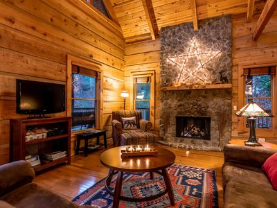 Photo for New listing: modern rustic luxury on the peaceful side of the Smokies!