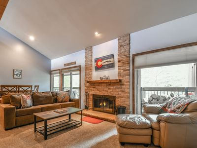 Photo for Newly remodeled 2 bedroom Wild Irishman condo. Just a short bus ride to the slopes