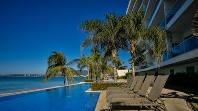 Photo for Five Star Luxury Beachfront Condo, Bucerias
