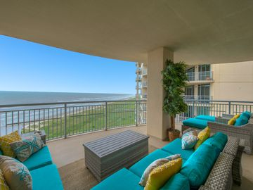 Galveston's Premier Property - Stunning Beach Front Condo with 2 huge balconies