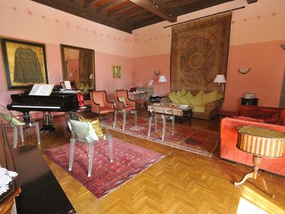 Photo for Renaissance vacation apartment in the middle of the Barga old city