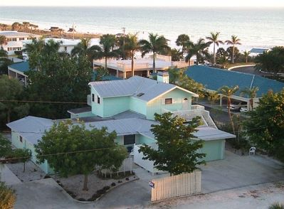 This private complex of 4 units offers access to a true world class beach
