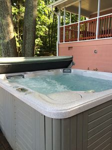 Photo for Hot Tub, Pontoon Boat (Available for Rent), Sandy Beach, Fire Pit, Amazing View