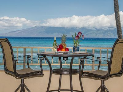 Photo for GREAT LOCATION IN WEST MAUI, SPECTACULAR OCEANFRONT CONDO WITH AMAZING VIEWS!