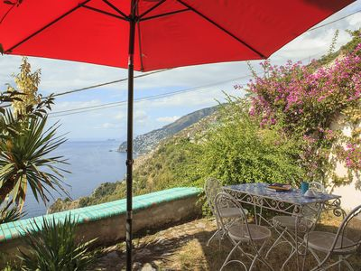 Photo for Il Glicine: Capri and the sea at your feet, only 600 meters from the beach