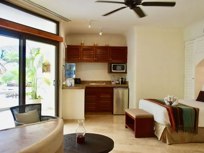 Photo for Amazing  studio with ocean view in the heart of Playa del Carmen.