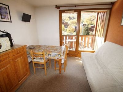 Photo for Studio + night cabin with balcony - 25 m² - equipped for 6 people