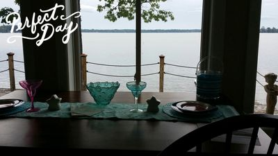 Photo for Lake Front Vacation Home In Lewiston, Sleeps 8, And Your Pet Is Welcome.