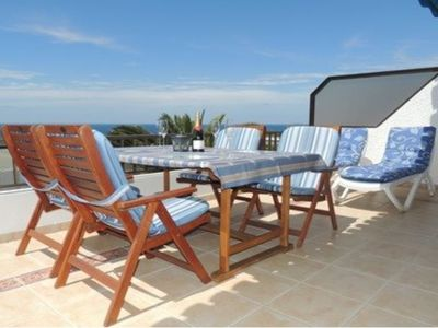 Photo for 2 Bed Apartment with 180 Degree Sea and Cliff Views in Tamara