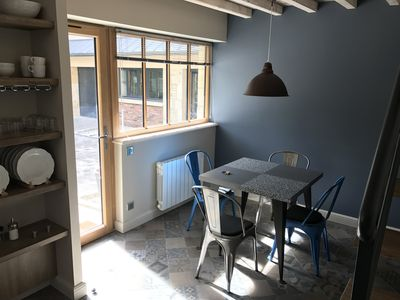 Photo for Renovated duplex apartment in the heart of Caen.