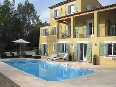 Photo for Belle villa 4 façades with garden and quiet pool