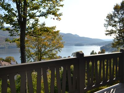 Photo for Stunning View on Lake Tremblant & Mountain - Two stories condo fully renovated