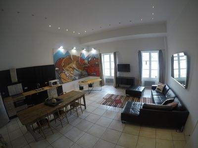 Photo for MAGNIFICENT ATYPICAL LOFT IN THE HEART OF MARSEILLES