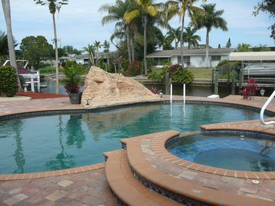 Photo for Yacht Club-Waterfront/Private Salt Pool/Spa/Lift/Gulf Access-Includes Utilities