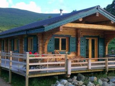 Photo for Chalet Rus. Luxury log cabin with all your creature comforts.