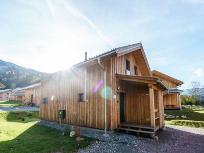 Photo for Wooden chalet with luxury interior, right by the piste