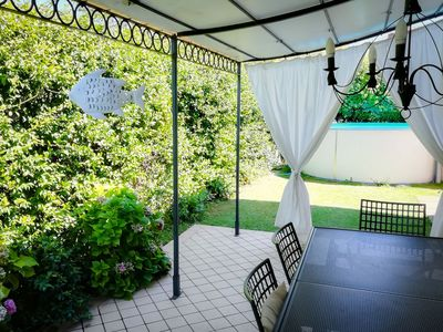 Photo for Detached house with garden and pool - beautiful Lake Garda