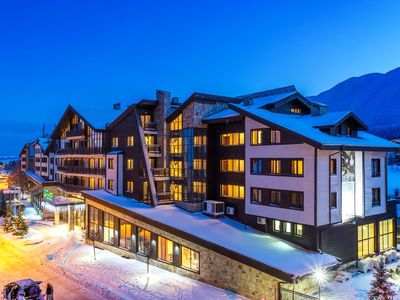Photo for 2BR Self Catering Apartment in Balken House Terra Complex Bansko with Balcony