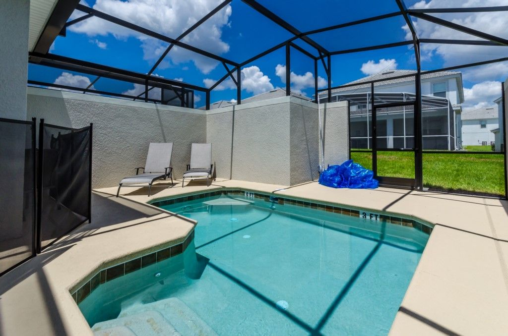 Luxury Furnished 5 Bedroom 5 Bathroom Town Home With Pool On Champions Gate Davenport Disney