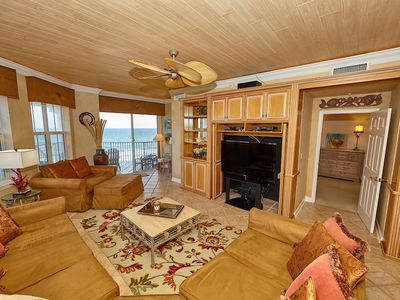 Photo for BEACHFRONT TOP FLOOR CORNER UNIT WITH STUNNING VIEWS!