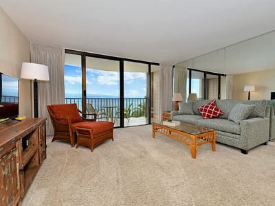 Photo for Beat the Winter Blues in Sunny West Maui!  Affordable & Direct Ocean front NO AC