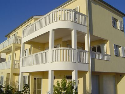 Photo for Upscale apartments on a hillside with sea views