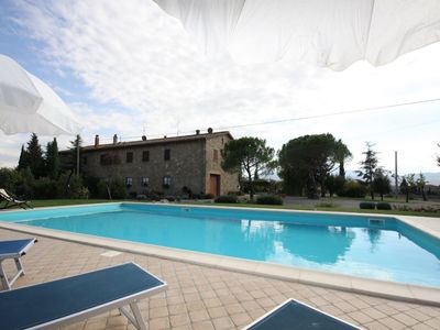 Photo for Four Bedroom Semi-Detached Villa Val d'Orcia  Villa Four Seasons is situated in a beautiful position