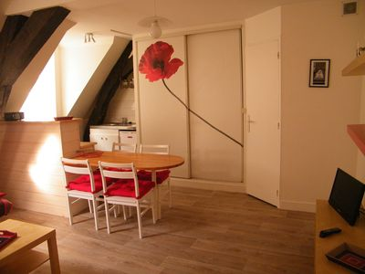 Photo for Apartment Saint-Malo intra muros, near the beaches, for 2 to 3 people