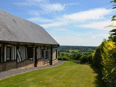 Photo for Entire renovated barn with spectacular view and spacious garden
