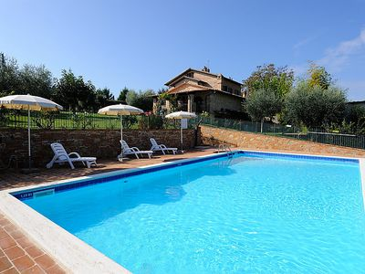Photo for 3 bedroom Apartment, sleeps 7 in Casamaggiore with Pool and WiFi