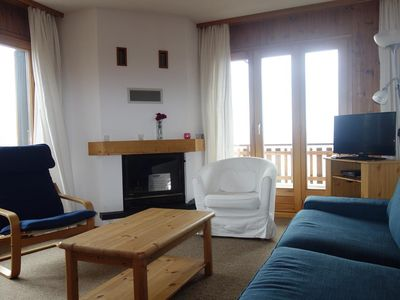 Photo for 4-Room apartment 3* for 6 persons, situated at about 800 meters from the skilift in a calm and sunny