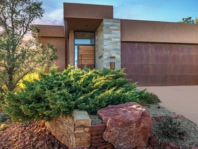 Photo for **CLOSE TO TRAILS* - WEST SEDONA, VIEWS, MODERN STYLE & SALT WATER HOT TUB