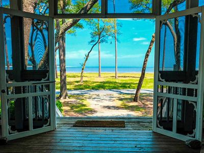 Photo for Oceanfront Cottage with large Screen Porch! NEW LISTING!