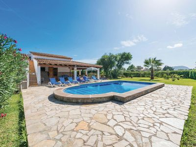 Photo for Well equipped Villa w/pool, BBQ & near to Pollensa