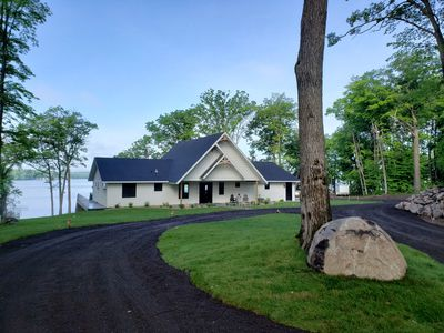 Photo for Luxurious Lake Home featuring lake views from the deck, great room or hot tub!!!