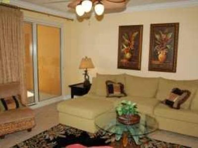 Photo for Gulf Front 2-Bedroom Condo with Large Patio!