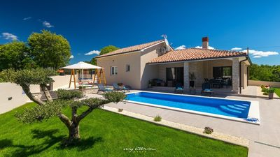 Photo for Charming villa with private pool near Rabac
