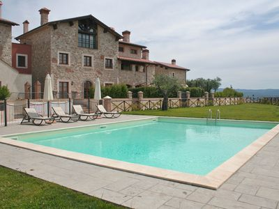 Photo for Well Appointed Apartment In Hill Top 'Borgo' Set In Stunning Umbrian Countryside